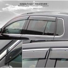 Для Volkswagon VW Tiguan 2010 оконный козырек тенты укрытия крышка дождевик наружные украшения тела продукты аксессуары