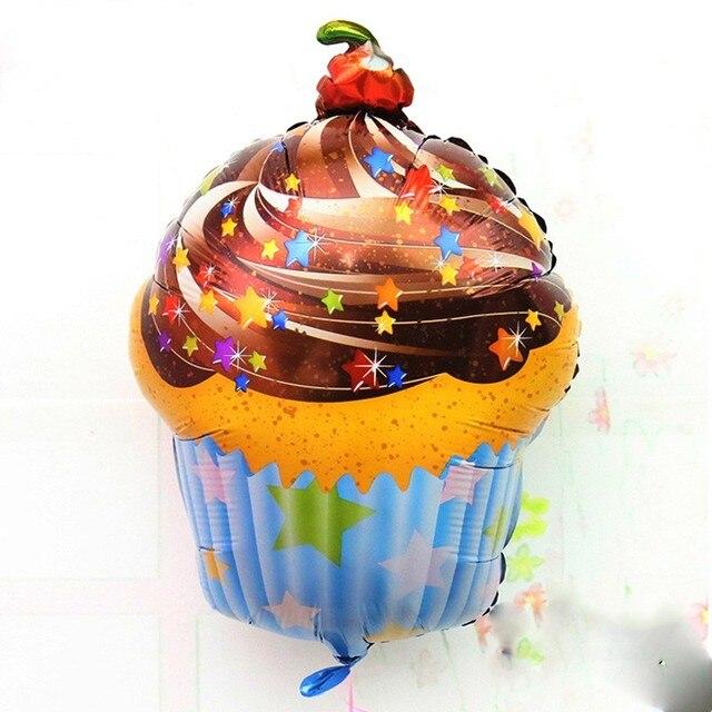 Torta Al Cioccolato Stagnola Balloons Cherry Star Dolce Festa Di