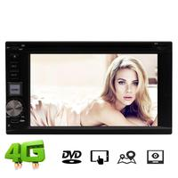 2din 6.2 ''стерео Andriod 7.1 GPS dvd плеер головное устройство fm am RDS Multi Язык USB/ SD Wi Fi 4 г OBD2 1080 P видео плеер + 4 г