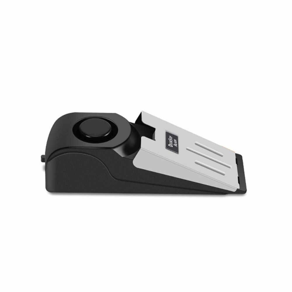 Alarme d'arrêt de porte sans fil 120dB | Système de sécurité pour les voyages à domicile, cale de sécurité Portable, alerte pour bouchon à la maison, bloc de sécurité en vogue