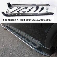 Для Nissan X-Trail 2014.2015.2016.2017 Автомобиля Подножки Авто Подножка Бар Педали Новый Свет Стиль Nerf бары