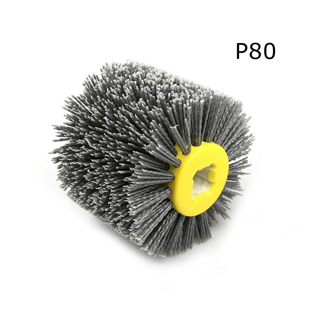 Polishing-Wheel Drum Electric-Brush Abrasive-Wire Woodworking Nylon 1pcs for 120--100--19mm