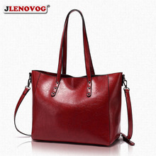 PU leather Vintage Tote Red Shoulder Bags Big Office Handbag for Women Female Designer Brand Hand Bag Ladies Black Luxury Purse недорого
