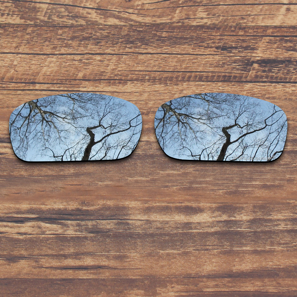 ae180700a2c ToughAsNails Resist Seawater Corrosion Polarized Replacement Lenses for  Oakley X Squared Sunglasses Metallic Silver (Lens Only)-in Accessories from  Apparel ...