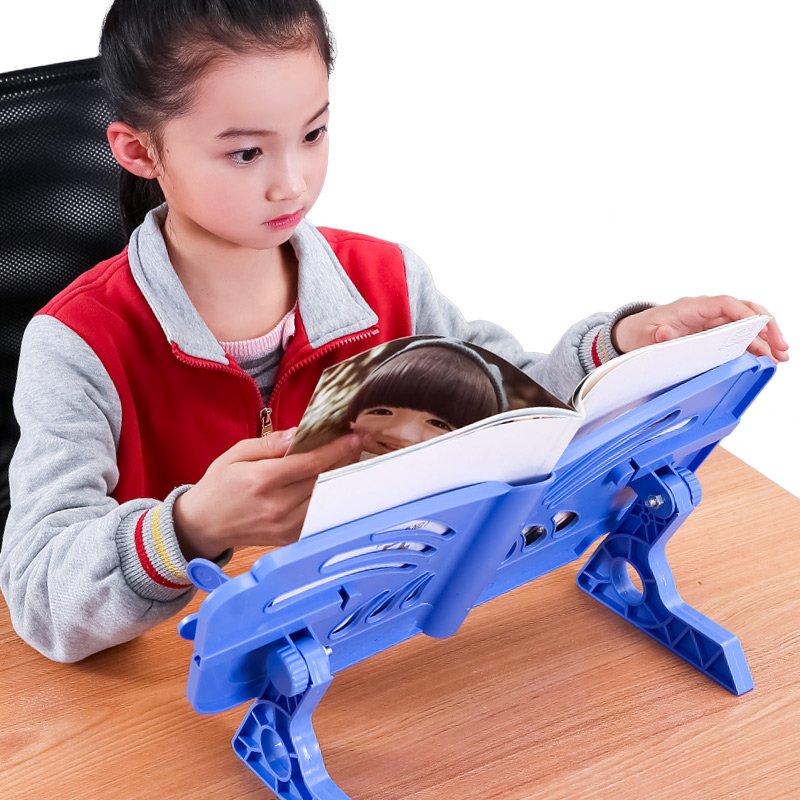 Creative Book Holder Reading Bookshelf Desk Bookboard Bookends Student Book Stand Book Support Student School supplies Chancery цена