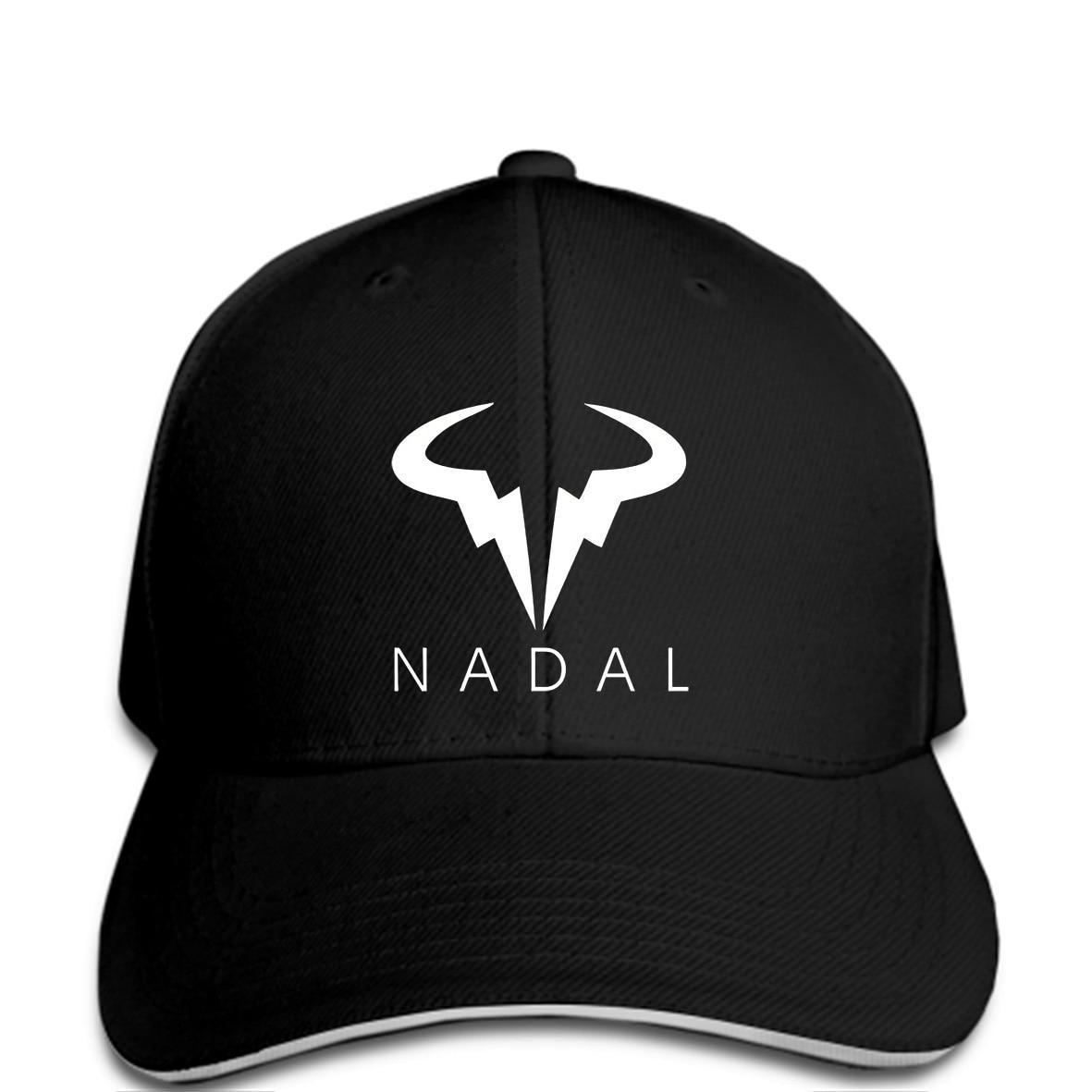 Men Baseball Cap Nadal Wimbledon Rafael Logo Black