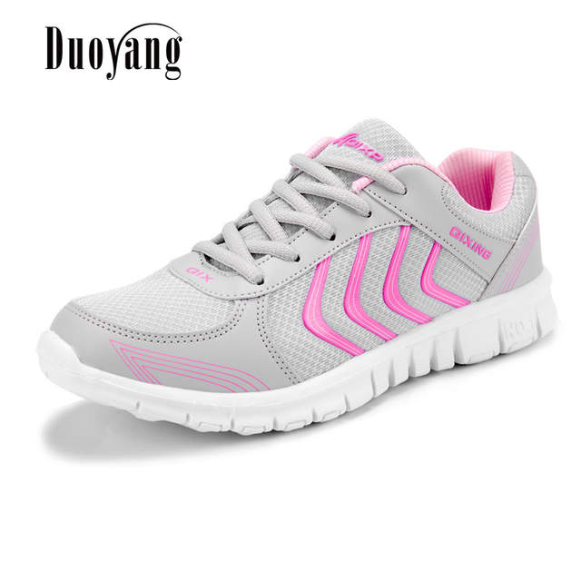 Fast delivery Women Shoes Breathable Sneakers 2018 New Arrival Sneakers  Mesh Lightweight Canvas Shoes Tenis Feminino c660606cd