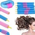 12pcs/set Sponge Hair Stick Magic Self Adhesive Hair Curlers Curly Hair Tools Soft Foam Anion Bendy Rollers Hair Makeup Tools