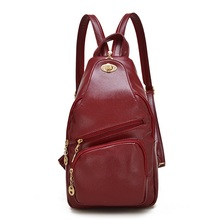 Facto2017 New Hot Sold women's Backpacks Men Backpacks Backpack Famous Brands School Student Leather Backpack A3704