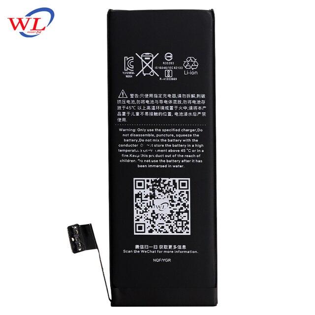 WL Lithium-Polymer Telefon Hohe Qualität 3,8 V 1560mAh Batterie Für Wiederaufladbare Telefon Bateria iPhone 5S 5C iPhone5S batterien