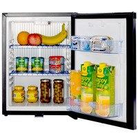 Smad Compacto Mini Baixo Ruído Absorção Frigorífico 110 V Pequeno Tabletop Refrigerador com Trava No Mini Bar 12 V Hotel frigorífico
