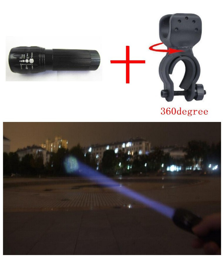 Yeni Velosiped İşıq 7 Vatt 2000 Lumens 3 Mode Velosiped Q5 LED Velosiped Ön Yüngül Velosiped işıqları Lampa Torch Suya davamlı velosiped işıqları 27