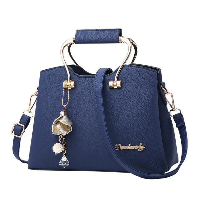 New Women Faux Leather Brand Evening Handbag Fashion Metal Grip Clutch Shoulder  Bags Strap Luxury Tote Handle Bags Vintage Purse a425bd62d75cc