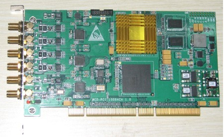 100M 4 channel 12 bit, 14 bit, 16 bit data acquisition card, independent research and development, customizable