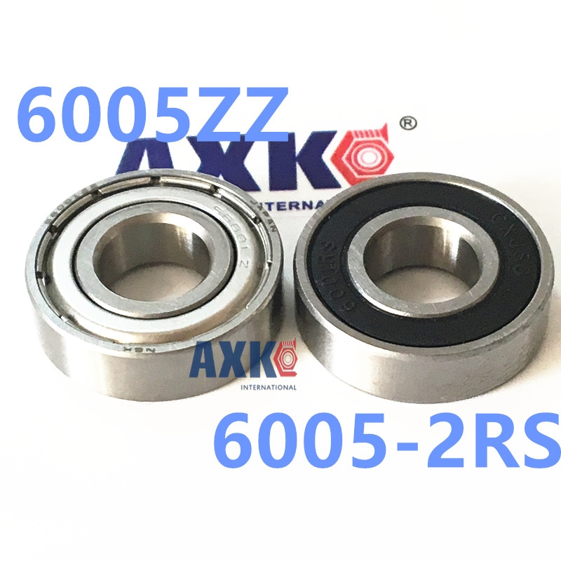 Free Shipping 25x47x12mm Deep groove ball bearings 6005 zz 2z 6005zz bearing 6005ZZ 6005-2RS 6005zz 6005z 6005 high temperature ball bearing for kiln 600 degree 30x55x13mm
