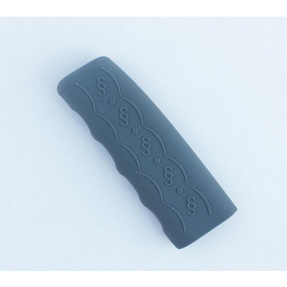 Universal Handbrake Sleeve Car Vehicle Silicone Gel Cover Anti-slip Hand Brake Protective Sleeve Car Accessory Grey