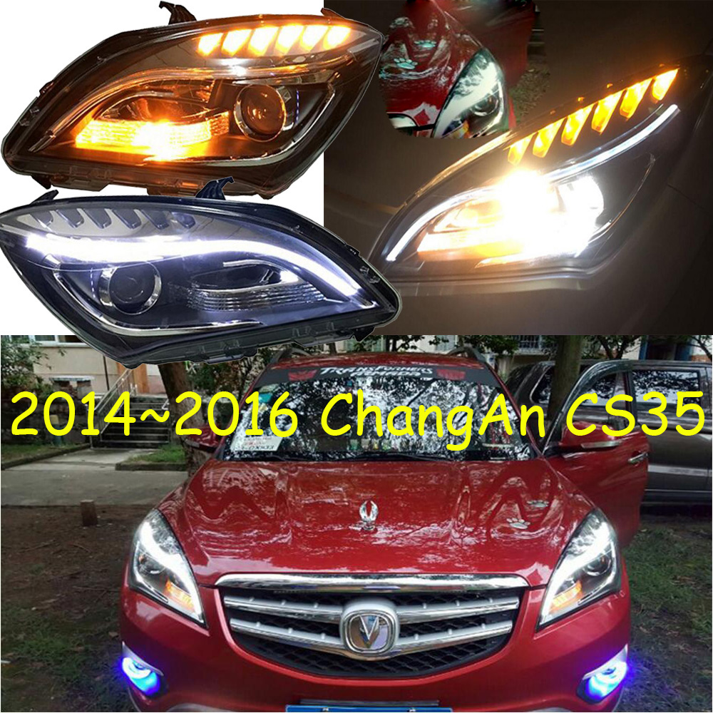 HID, 2014 ~ 2016, Voiture Style, ChangAn CS35 Phare, Chang Une CS35 tête lampe