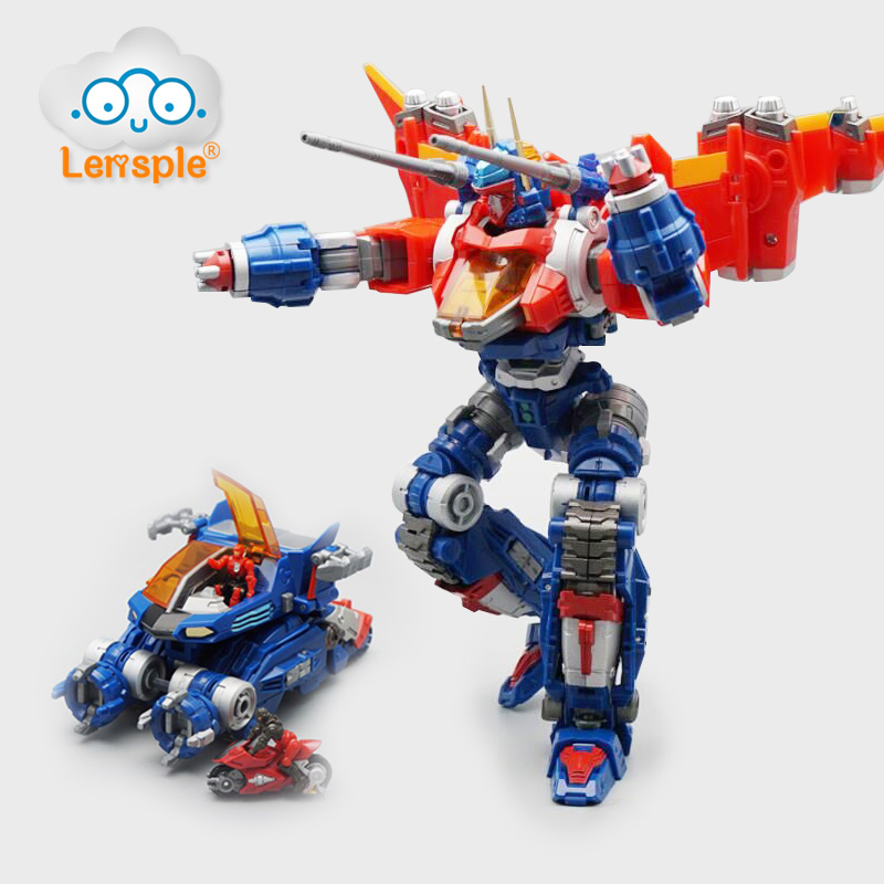 Lensple MFT Diaclone Transformation Robot DA07 DA01 Model Lost Planet Serie Da-01 Warrior DA-07 Equipment Action Figure Toy
