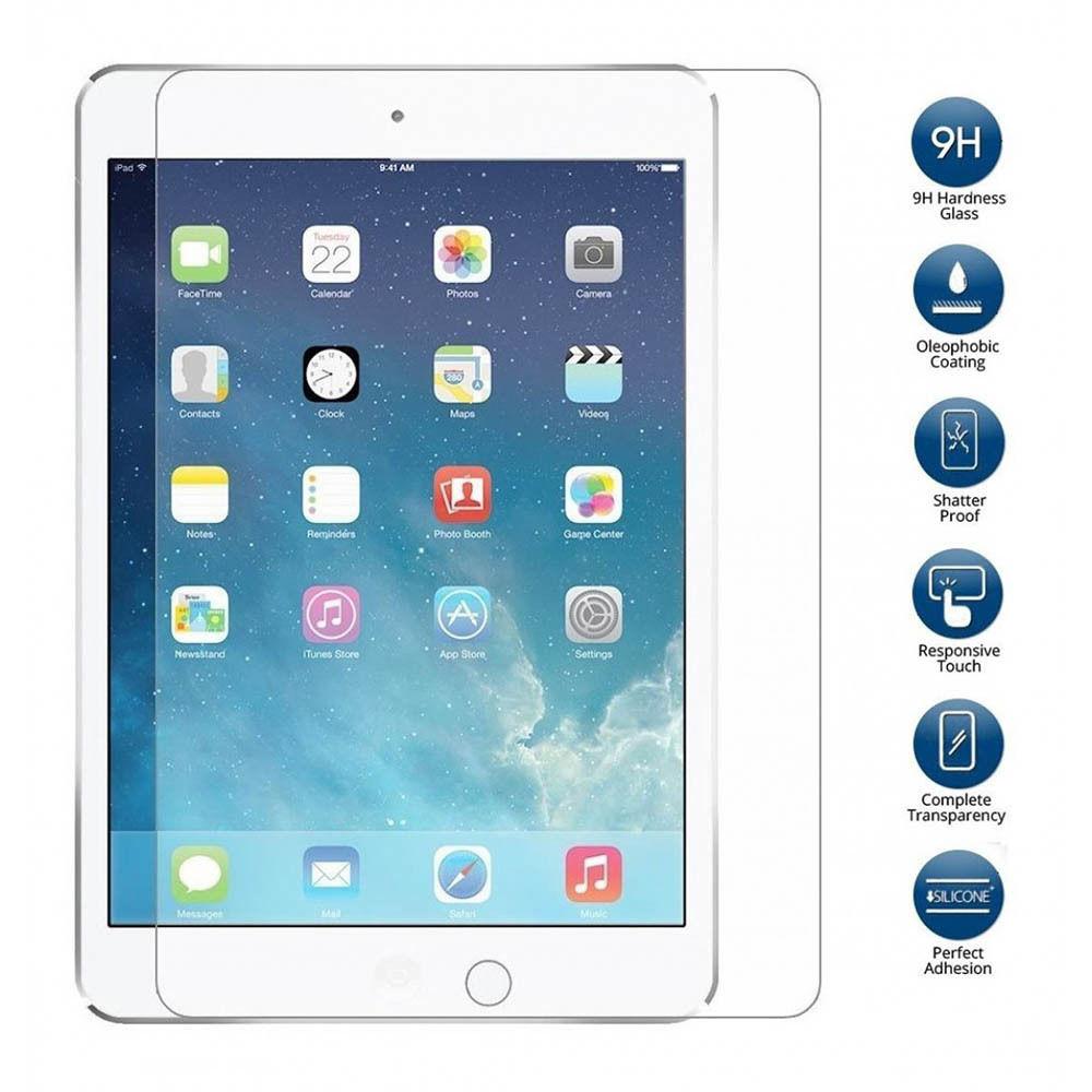 Premium Tempered Glass Screen Protector for iPad 2 3 4 iPad2 iPad3 iPad4 97 9H Hardness 25D 03mm Anti-Scratch Protective Film