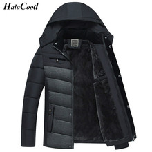 High Quality Winter Thick Padded Parka Men Jacket Coat Russian Wadded Hooded Casual Warm Snow Windbreaker Overcoat Male Jackets