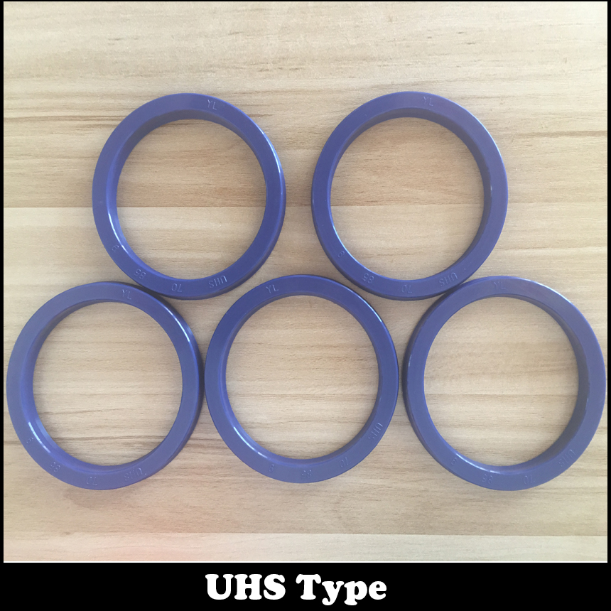 UHS 6 pièces 31.5x41.5x6 noir et 6 pièces 18x26x5 brun pneumatique cylindre anneau joint grattoir Piston tige symétrique joint d'huile - 2