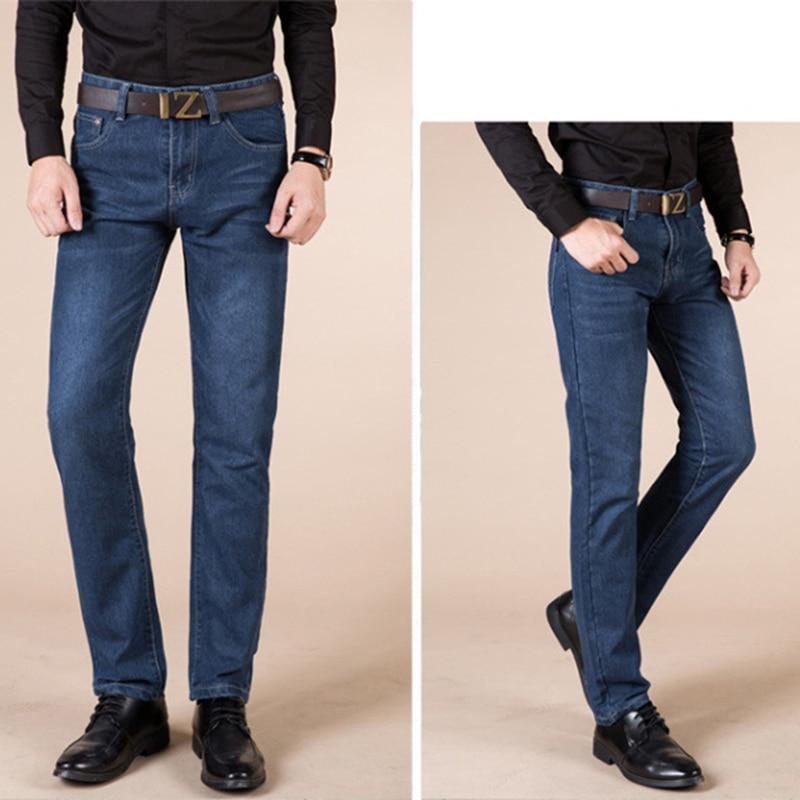 smart casual summer straight men's jeans slim waist