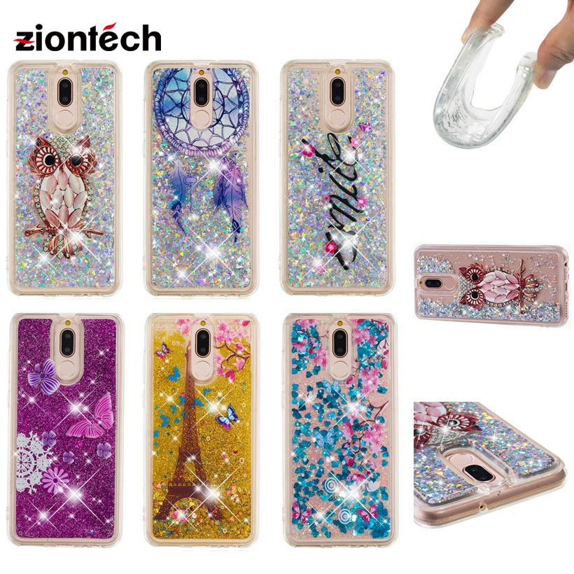 Cellphones & Telecommunications Fitted Cases Responsible Soaptree Phone Case For Huawei G10 Mate 10 Lite Nova 2i Maimang 6 Honor 9i 2017 5.9 Inch Glitter Liquid Soft Tpu Cover Meticulous Dyeing Processes