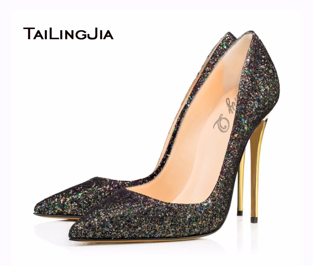 ФОТО 2017 New Fashion Shoes Women Pointed Toe High Heel Sandals Women Pumps Handmade Shoes Office Shoes US Size 4-15