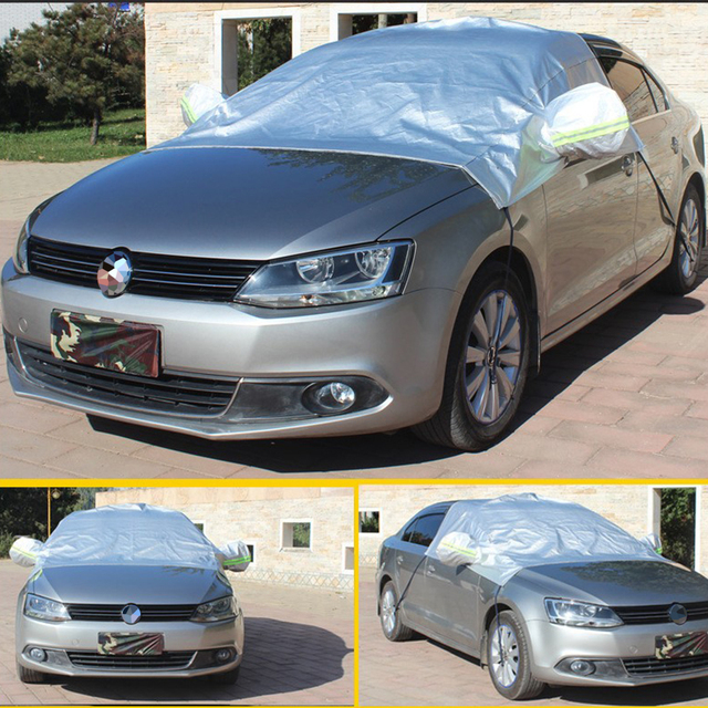 Car Front Wndow Cover/Full Cover Sun Shade Protector Outdoor Wind Dust Snow Rain Protective Cover Auto Accessories Styling 4