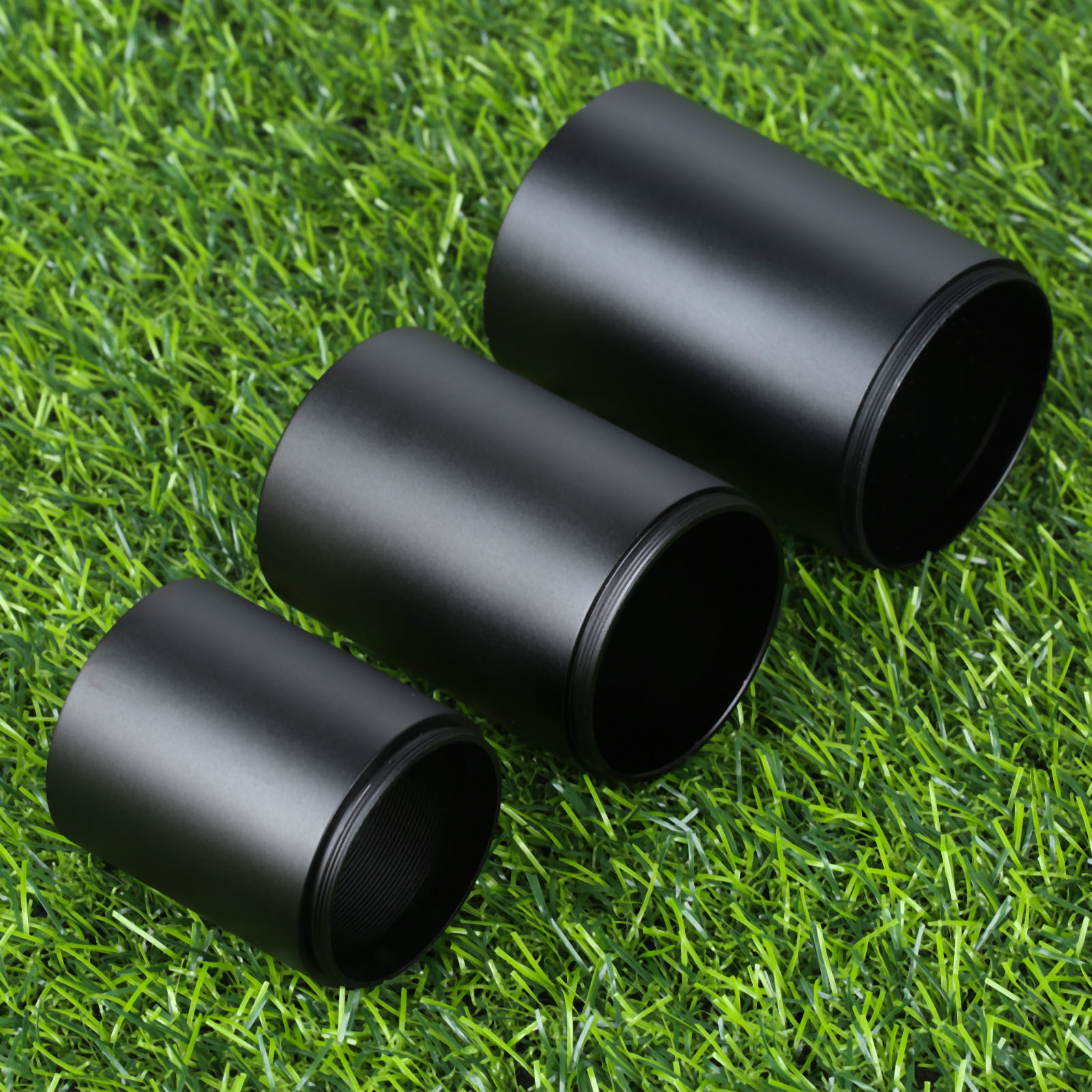 Hunting Aluminum Alloy For 32mm 40mm 50mm Telescope Sun Shade Tube Lens Tactical Rifle Pistol Scope Objective Lens Sunshade Tube