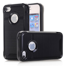 Armor Hybrid Rugged Rubber Case For Apple iPhone 4S 4 Case Silicone & Plastic Shockproof Protection Coque For iPhone 4S Cover