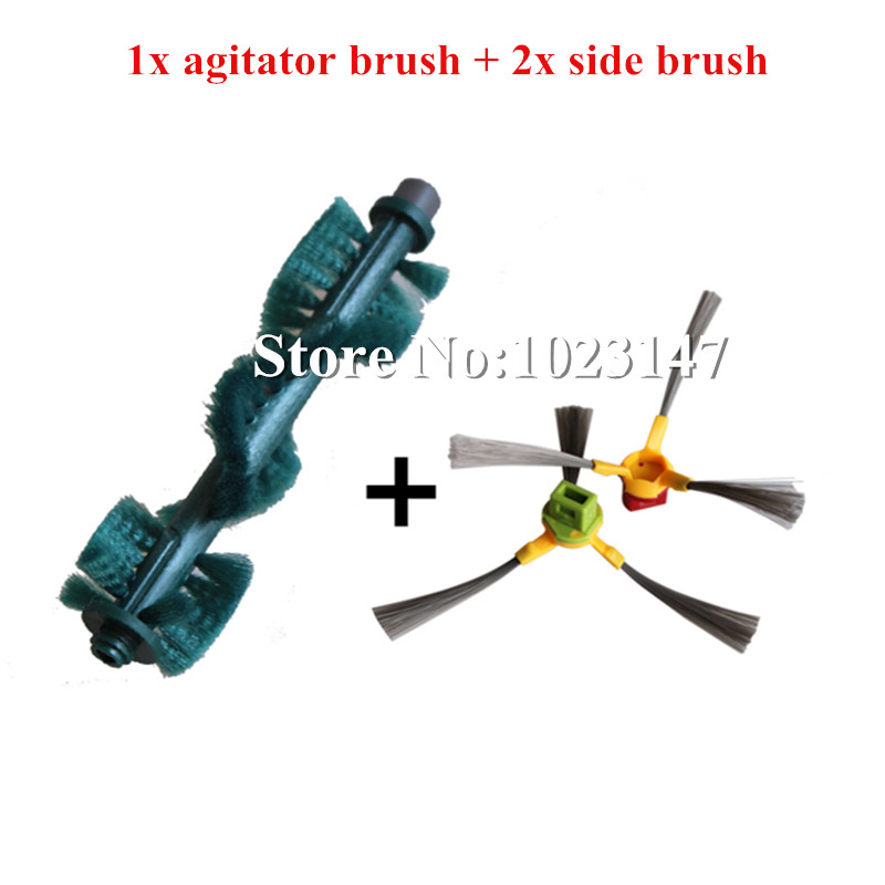 1x Main Brush Agitator Brush and 2x Side Brush Replacement For Ecovacs Deebot D77 D79 D63 D65 D66 D68 Vacuum Cleaner 1x main brush agitator brush and 2x side brush replacement for ecovacs deebot d77 d79 d63 d65 d66 d68 vacuum cleaner
