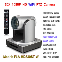 High quality Wifi 1080P IP video conference camera 3G SDI HDMI PTZ 30x Auto Zoom for broadcasting