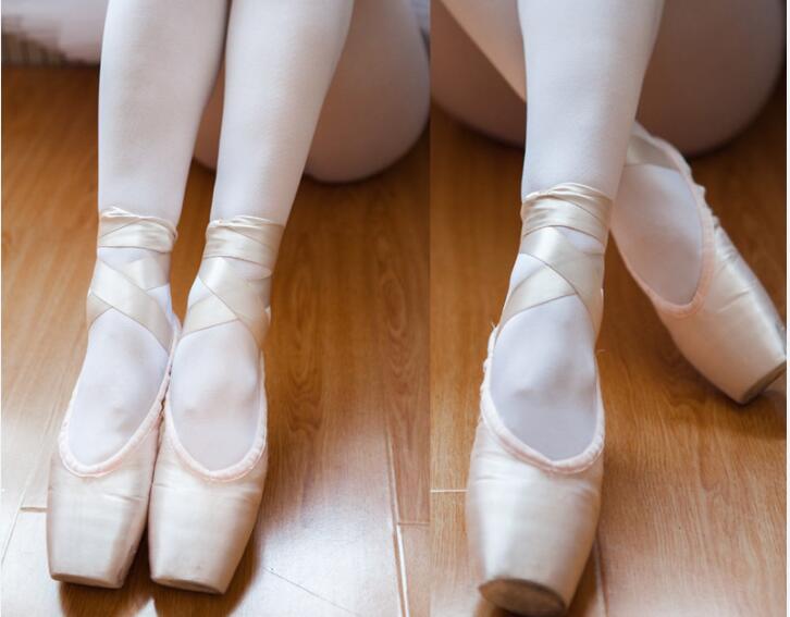Bailarines Zapatillas de ballet Mujer Adultos Niños Bailar Punta del pie Calzado de zapatillas de deporte Banda Práctica Deportes Zapatos de baile Zapatillas de deporte Mujeres