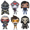 Funko pop 12 cm juguetes figuras de acción en caja original trazador y pharah y WIDOWMAKER y SEGADOR y SOLDADO 76 y WINSTON Model Collection