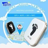 슈퍼 미니 GPS 추적기 개인 로케이터 그냥 휴대 전화 화면 매우 유용한 학교 어린이 키즈 애완 장로