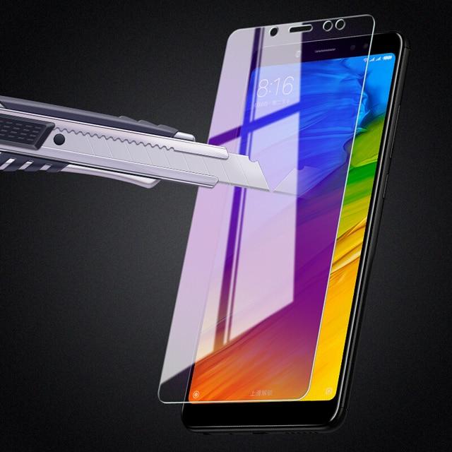 2Pcs/lot Full Tempered Glass For Xiaomi Redmi Note 5 Pro 6 Screen Protector Anti Blu-ray Protector Film For Redmi 5 Plus glass 4