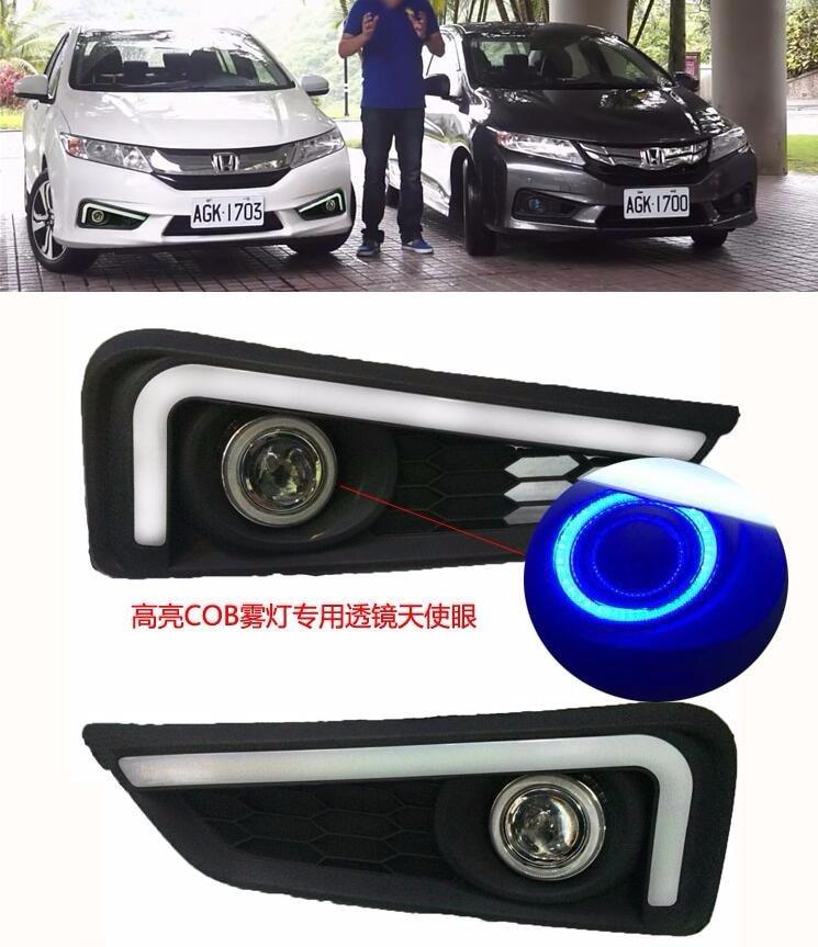 eOsuns Καινοτόμο COB Angel μάτι + LED ημερήσιο - Φώτα αυτοκινήτων - Φωτογραφία 3