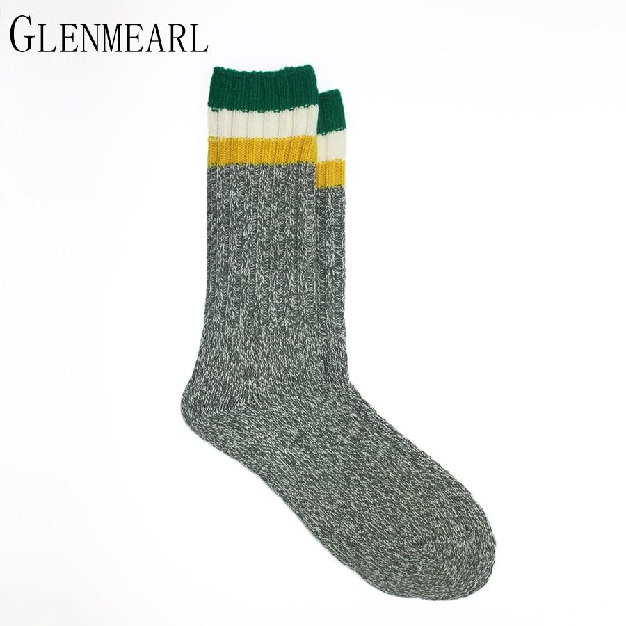 Silné pánské ponožky na podzim zimní pruhované teplé značky Coolmax kompresní vyztužené paty a prsty Punčochové kalhoty plus velikost pánské zaváděcí ponožky 2ks