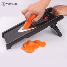 Multifunctional V-Slicer Mandoline Blades Professional Slicer Food Chopper Fruit & Vegetable Cutter kitchen Tool(China)