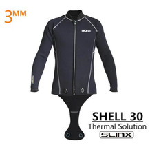 SLINX Men 3mm Neoprene Scuba Diving Suit Snorkeling Spearfishing Wetsuit Surfing Windsurf Keep Warm Jacket Connecting Crotch