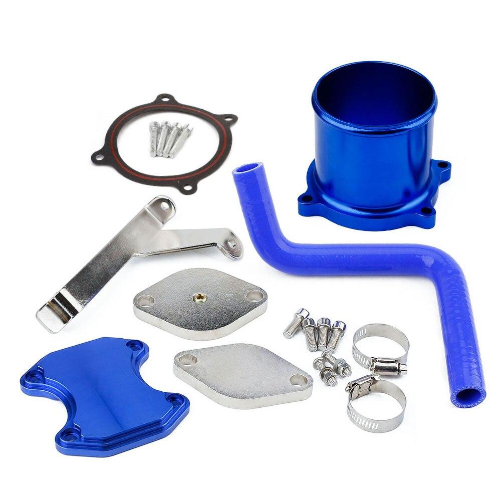 EGR Cooler Kit /& Throttle Valve Delete Kit for Dodge Ram 6.7L Diesel 05//07-09 US