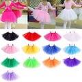 Hot New Girls Childrens Kids Dance Tutu Skirt Pettiskirt Ballet Dress Costume Fancy Girls Dancewear Ballet Clothes 13 Colors