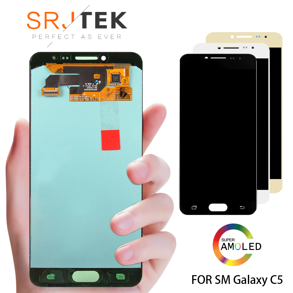 Original 5.2 Super AMOLED LCD for SAMSUNG Galaxy C5 LCD Display C5000 LCD Touch Screen Digitizer Replacement PartsOriginal 5.2 Super AMOLED LCD for SAMSUNG Galaxy C5 LCD Display C5000 LCD Touch Screen Digitizer Replacement Parts