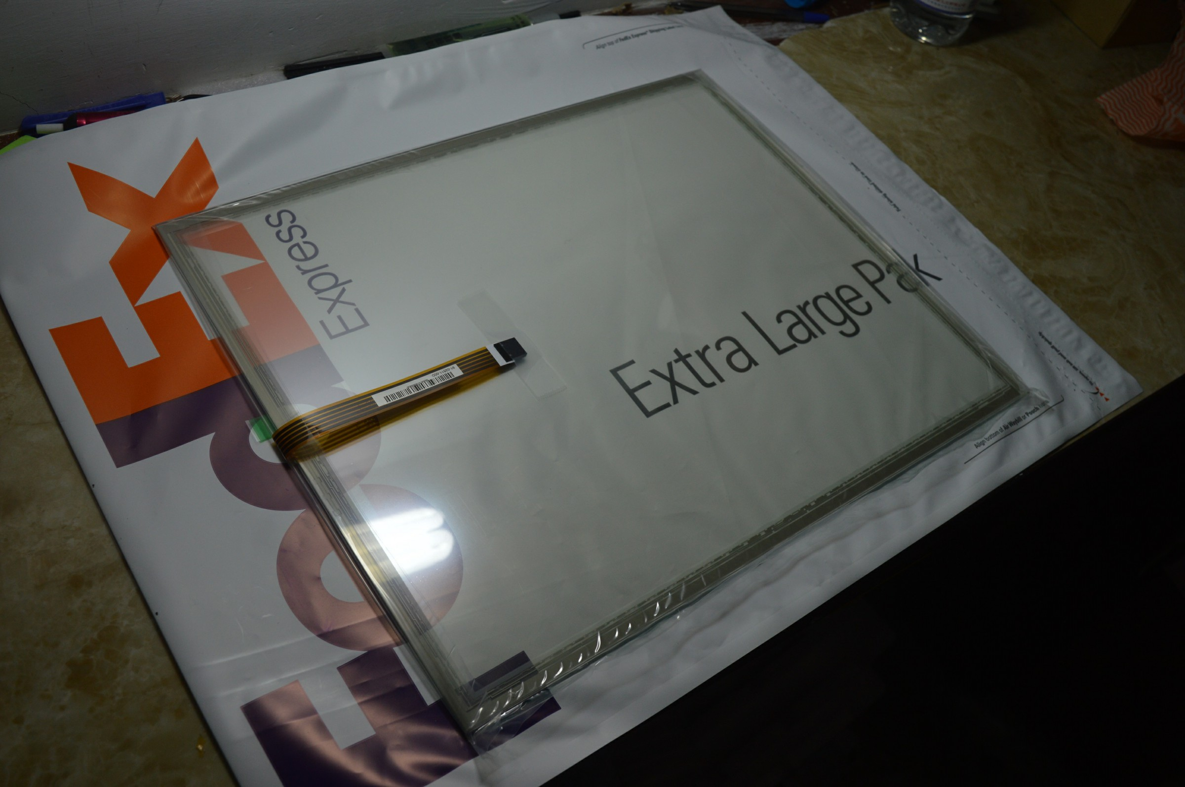 AMT2507 AMT 2507 HMI Industrial Input Devices touch screen panel membrane touchscreen AMT 5Pin 10.6 inch,FAST SHIPPING