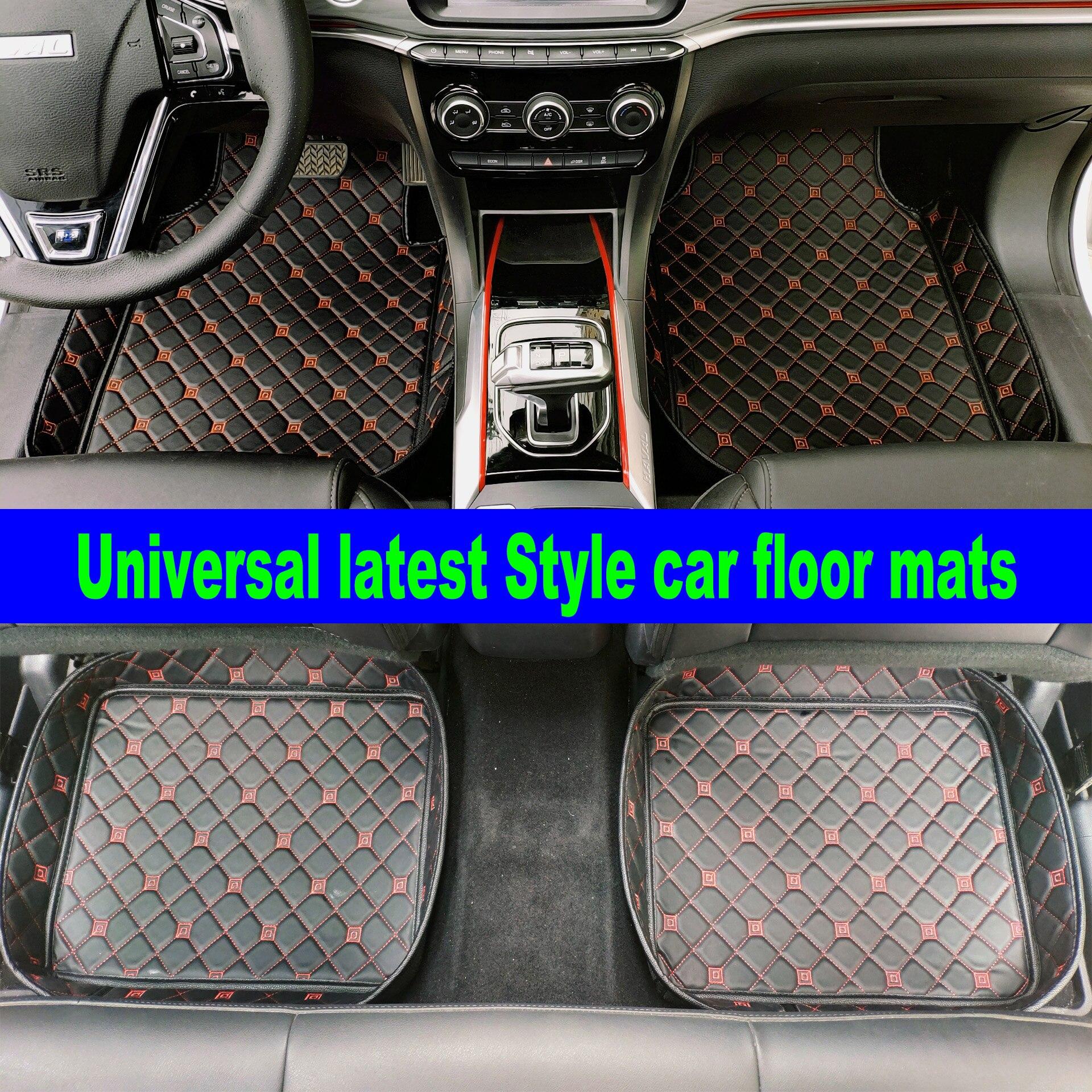 Custom made floor liners for Audi A3 A4 A5 A6 allroad A7 A8 A8L Q3 Q5 Q7 5D waterproof all weather car floor mats