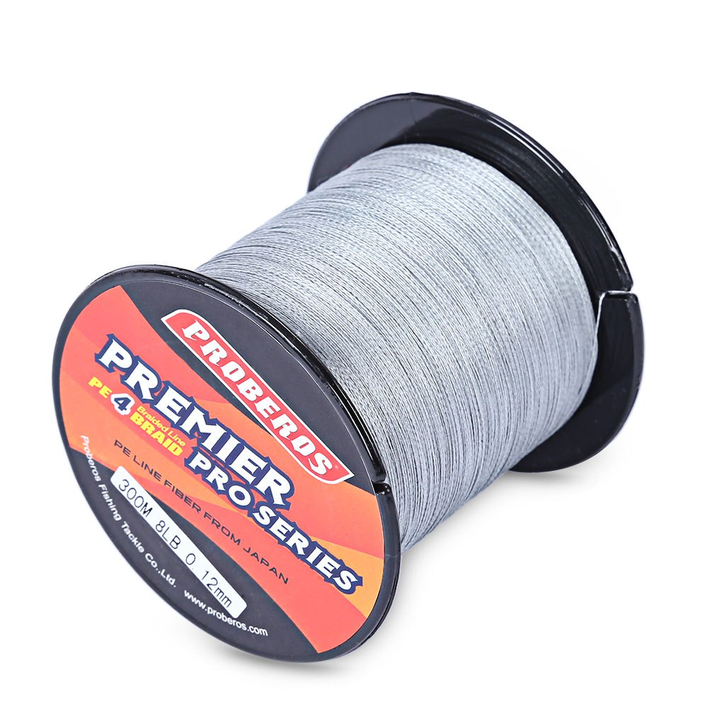 PRO BEROS 300M PE Braided Fishing Line 6LBS to 80LBS Multifilament Fishing Line Angling Accessories 4 Strands Brazil