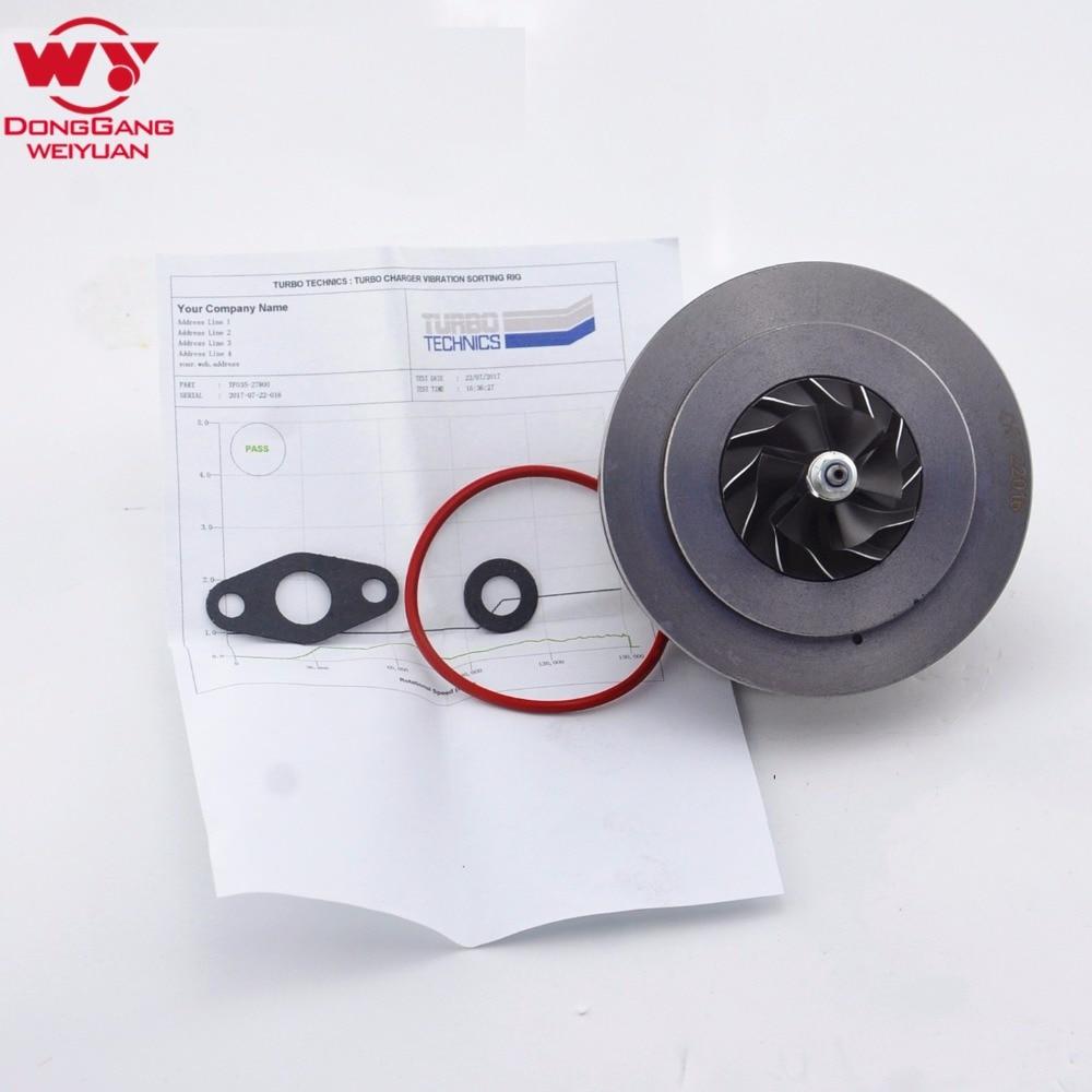 Core assy turbine for Hyundai Santa Fe 2.2 CRDI D4EB 150 HP Turbo charger cartridge 28231-27800 CHRA 49135-07302 49135-07300 стоимость