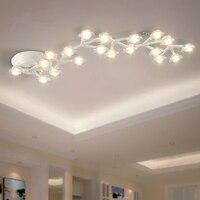 Post Modern LED chandelier ceiling loft illumination Nordic fixtures home deco lighting living room hanging lights bedroom lamps