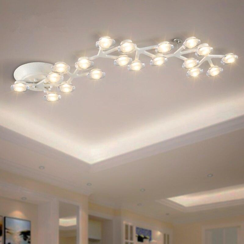Post-moderne LED lustre plafond Nouveauté loft éclairage Nordique appareils éclairage à la maison salon lumières chambre lampes